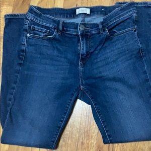 Loft outlet size 6 modern skinny jeans
